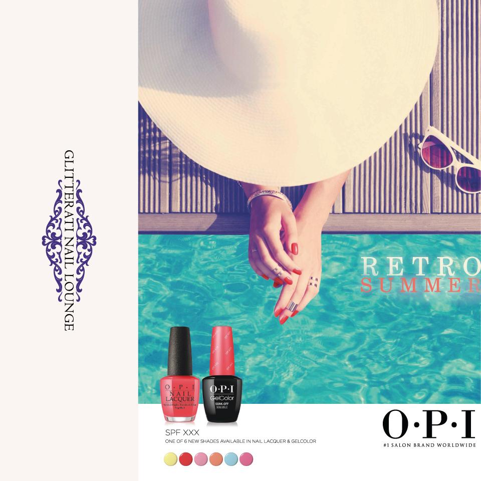 OPI Retro Summer